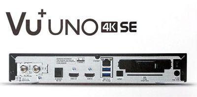 Ambizioso Vu + Uno 4k Se 1x Dvb-s2 Fbc Twin Tuner Pvr Ready Linux + Hdd 1 Tb Hdd-