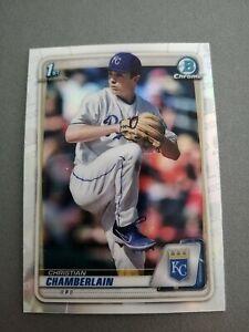 Christian Chamberlain 2020 Bowman Draft Chrome Refractor #BD-84