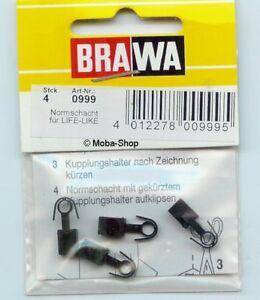 Brawa-0999-L0999-Life-Like-Normschacht-fuer-NEM-Kupplung-63700