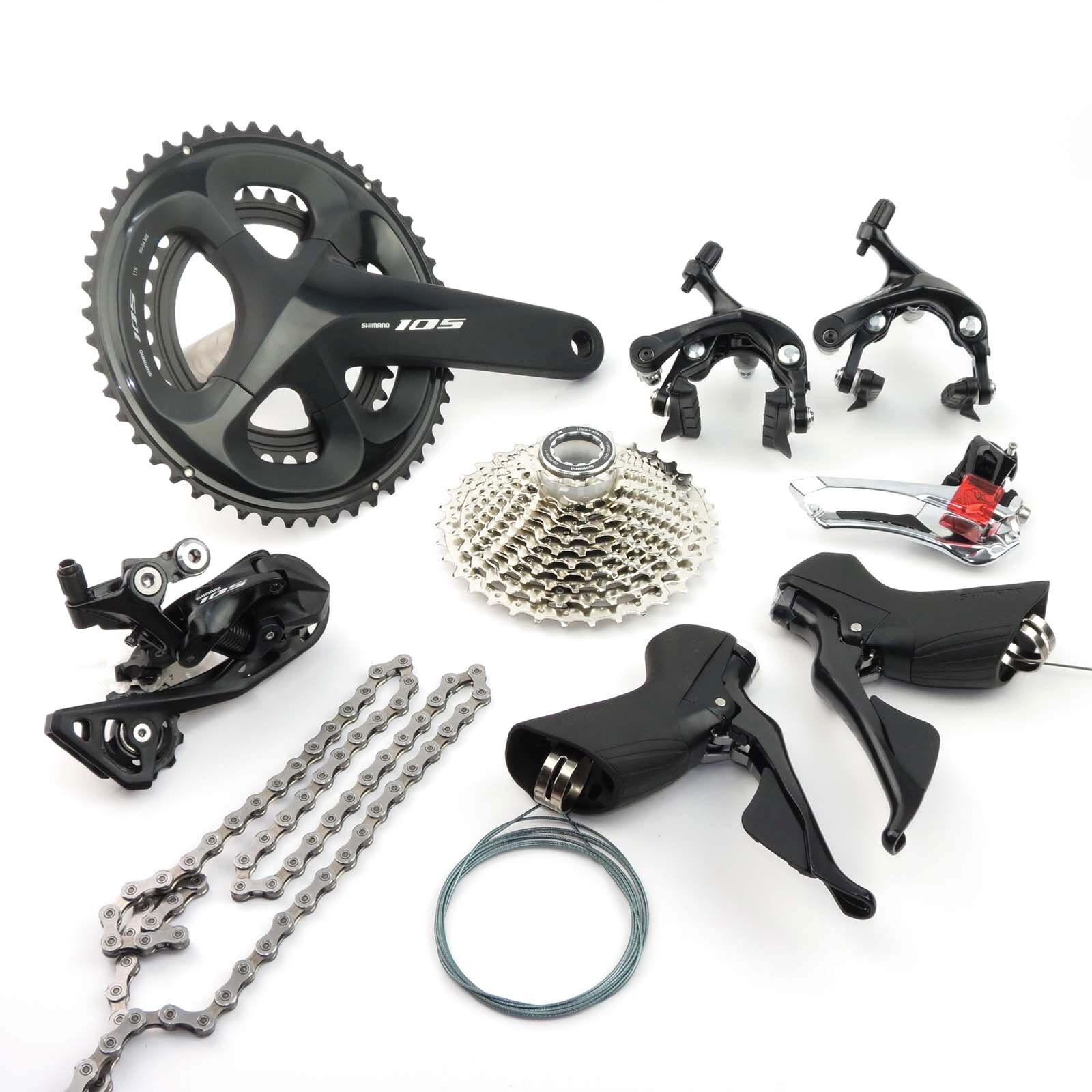 Shimano 105 R7000 2 x 11 speed 52-36T Road Bike Bicycle Groupset Build kit
