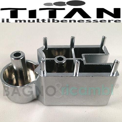 Replacement Hinge Light Titan Chrome CALIP9CR06