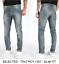 B-Ware-Jack-amp-Jones-Selected-Herren-Slim-Skinny-Fit-Stretch-Jeans-Hose-Glenn Indexbild 14