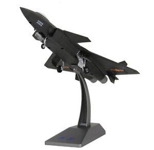 def104c58cd5 1:72 Alloy Diecast Aircraft Model J-20 Black Eagle Stealth Fighter ...