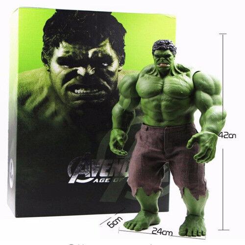 Avengers Incredibile Hulk Iron Man Hulk Buster giocattoli in PVC Action Figure 42CM