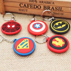 Avengers Iron Man Spider-Man Captain America Batman Superman Key Chains Keychain