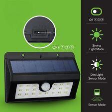 20 LED Bright Solar Lights Outdoor Garden Motion Activated Solar Power Light