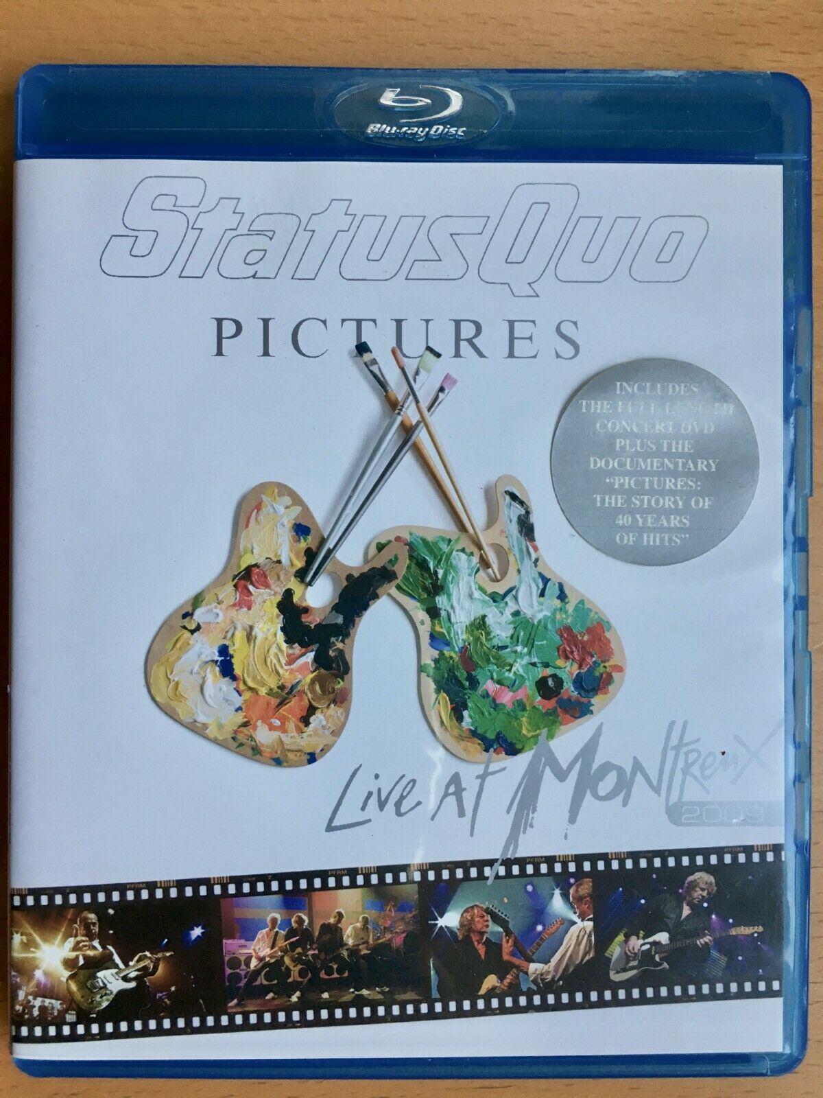 801213334797 Pictures Live at Montreux 2009 With Status Quo Blu-ray Region 1