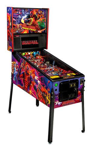NEW Stern Deadpool PRO Pinball Machine  Free Shipping  SHIPS MARCH