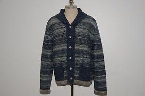 b60a0ba63 Ralph Lauren RRL Cotton   Linen Blend Shawl Collar Cardigan Sweater ...