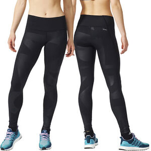 DAMEN ADIDAS TIGHTS TRAININGSHOSE HOSE LAUFHOSE CLIMALITE