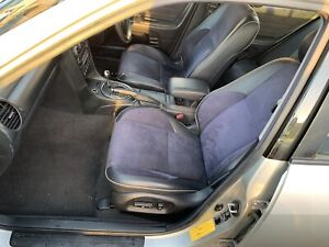 99-05-LEXUS-IS200-BLACK-LEATHER-SEATS-DOOR-CARD-SET-HALF-SUIDE-70K-MILES-CLEAN