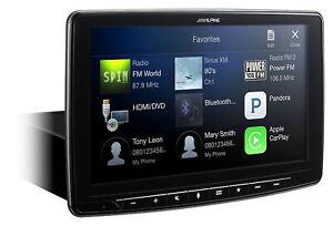 "ALPINE iLX-F309 9"" 1-Din Digital Media Bluetooth Receiver HDMI/CarPlay/H"