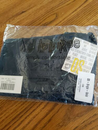 Details about  /Lularoe OS NWT HTF In Packaging Solid Navy Blue