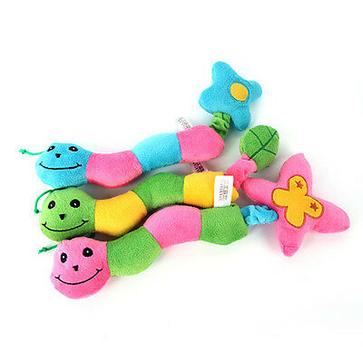 Durable Dog Pet Puppy Toy Plush Sound Squeaker Squeaky Animal Shape Chew Toy