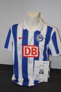 wholesale dealer 4d739 81ec2 Details zu Hertha BSC Berlin Trikot 2009/2010, Teamsigniert, XL