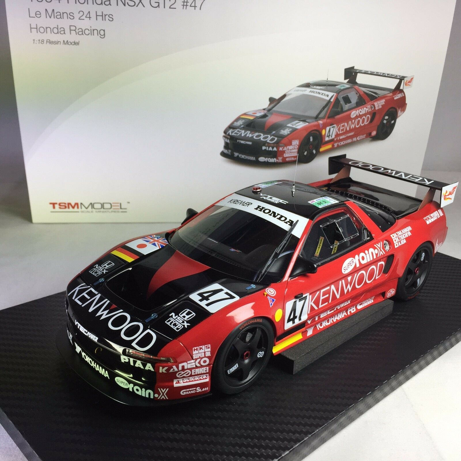 promozioni di sconto 1 18 18 18 TSM  TSM151809R Honda NSX GT2 Leuomos 24 Hrs Honda Racing  ordina ora con grande sconto e consegna gratuita