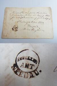 Quittung NEEDAU (bei Königsberg) / Malaja Ilowka 1874 über entrichtete Steuern