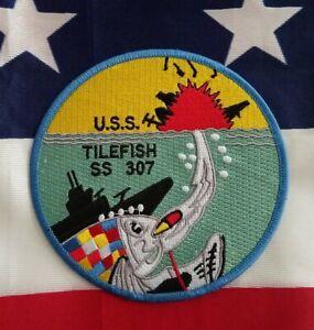 USS Tilefish SS 307 Balao-class USN Submarine Military Navy Patch