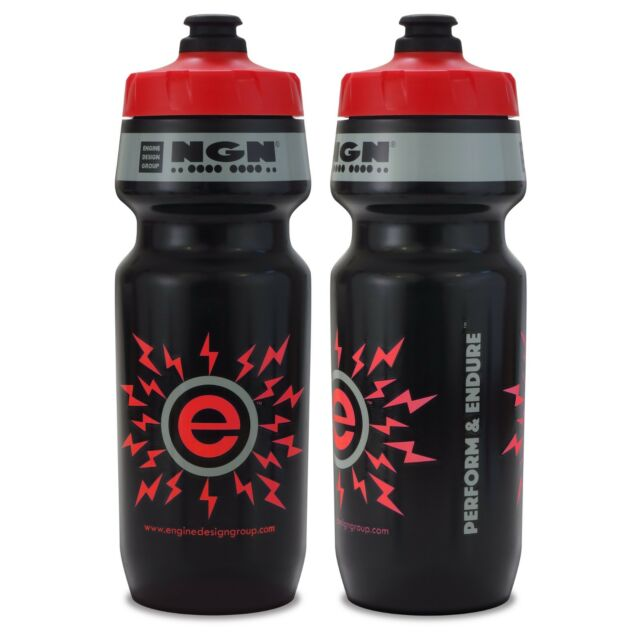 Origin8 Sport-Surge Water Bottle-24 oz-Clear//Black-BPA Free-New