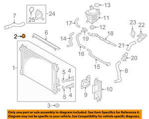 toyota oem 16 18 prius 1 8l l4 radiator upper insulator 1652337010 rh ebay com 1ZZ-FE Engine 1ZZ-FE Engine