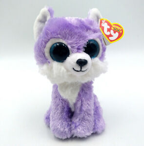 6-034-TY-Beanie-Boo-Animals-Great-Wolf-Lodge-Exclusive-Plush-Toy-Iris-Glitter-Eyes