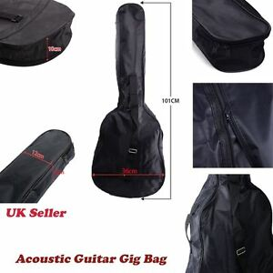 38 3 4 size acoustic and classical guitar carrying carry case bag holder sleeve ebay. Black Bedroom Furniture Sets. Home Design Ideas