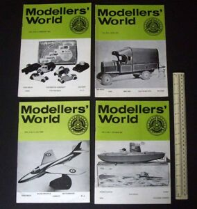 1973/74 Vintage MikanSue Modellers' World Collectors Magazine Complete Vol 3