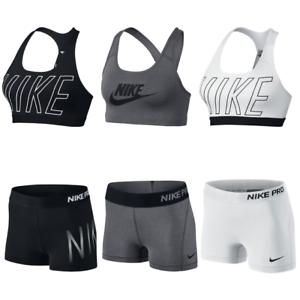 61fe374fcd Nike Pro Shorts   Nike Sports Bra Exploded Nike Logo NWT - Each Sold ...