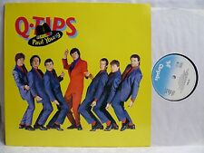 LP,  Q-Tips feat. Paul Young, Chrysalis Germany 1980, Topzustand, NM