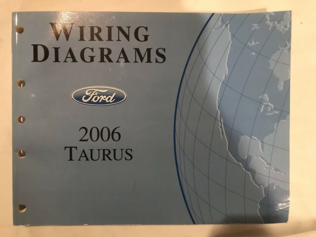 2006 Ford Taurus Oem Wiring Diagram