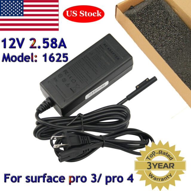 Genuine Original Microsoft Surface Pro 3 4 AC Power Adapter Charger Model 1625