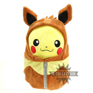 Pokemon Pikachu Vestito Da Eevee Peluche Pupazzo Dress Cosplay