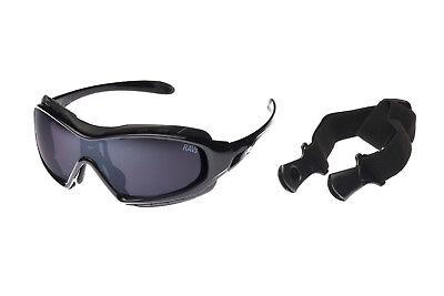Ravs Schutzbrille Motorradbrille Bikebrille Bike Glasses Sonnenbrille Biker Gut FüR Antipyretika Und Hals-Schnuller