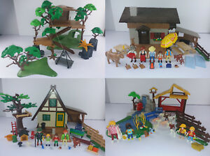 Forsthaus Almhütte Zoo pour enfants dans les arbres - Playmobil 4207 5422 4851 3217