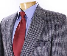Harris Tweed Gray Multicolor Fleck Blazer Jacket 100% Wool 40R Made in USA