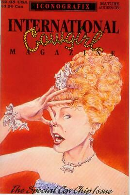 Erfinderisch International Cowgirl Magazine # 2 (of 2) (iconografix Usa, 1992) Mangelware