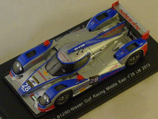 Spark S3749 - Lola B12 60 Nissan Gulf Middle East Le Mans 2013 N°28  1 43