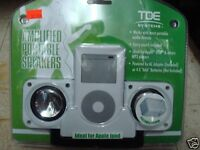 Amp Port Ipod Speakers For Mp3 Players In Pack