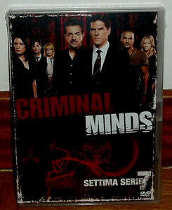Mentes Criminales 7º Temporada Completa 5 Dvd Nuevo Español Serie Sin Abrir R2 Ebay