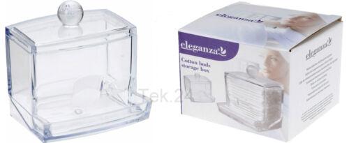 Wattestäbchenbox Wattestäbchen Spender Box Halter Dose Wattestäbchenbehälter