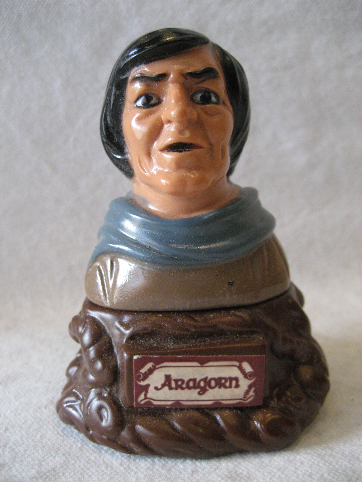 ARAGORN ARAGORN ARAGORN vintage LOTR Finger Puppet figure 1978 Tolkien Lord of the Rings w  BOX a286e7