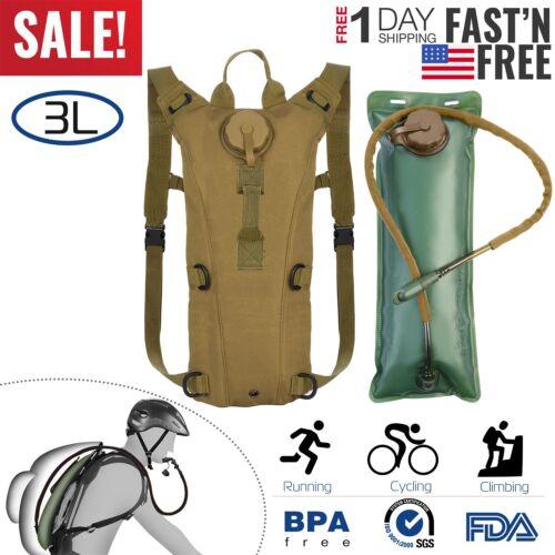 Hydration Bladder 3L Water Pack Reservoir Camel Back Biking Climbing Hiking US