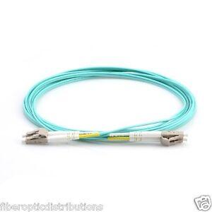 3m-LC-LC-Duplex-50-125-Multimode-10-Gb-Fiber-Patch-Cable-Aqua-om3-0759