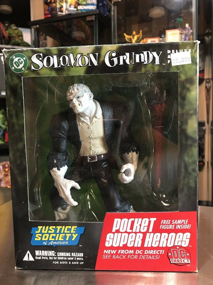 Justice Society of America (JSA)  Solomon Grundy Deluxe Action Figur 7.5