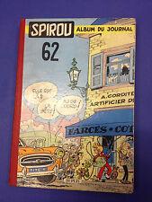 Album Spirou n° 62