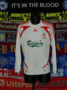 ea37b4151 4 5 Liverpool adults M 2007 original away long sleeve football shirt ...