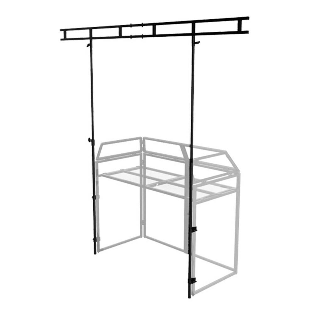 Ibiza Light DJ Booth Overhead Kit for DS40 Stand (Fits Equinox DJ Booth MKII)