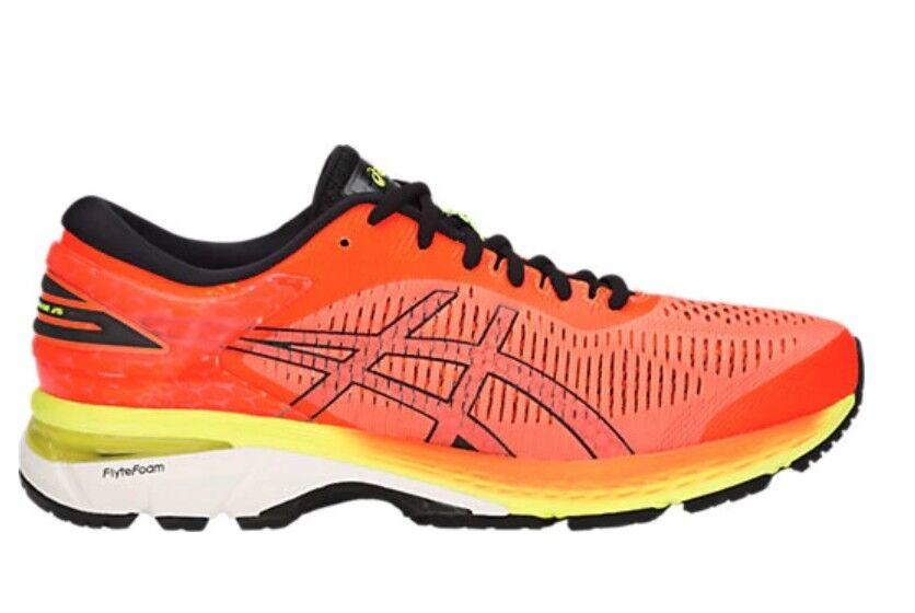 ASICS Men's GEL KAYANO 25 SHOCKING orange Running Running Running shoes Sneakers Marathon 804225