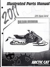 2011 ARCTIC CAT SNOWMOBILE F6 SNO PRO PARTS MANUAL P/N 2258-767  (768)