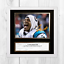 CAM-NEWTON-NFL-Carolina-Panthers-ENCADREE-NON-encadre-signe-Poster-10-034-x10-034 miniature 4